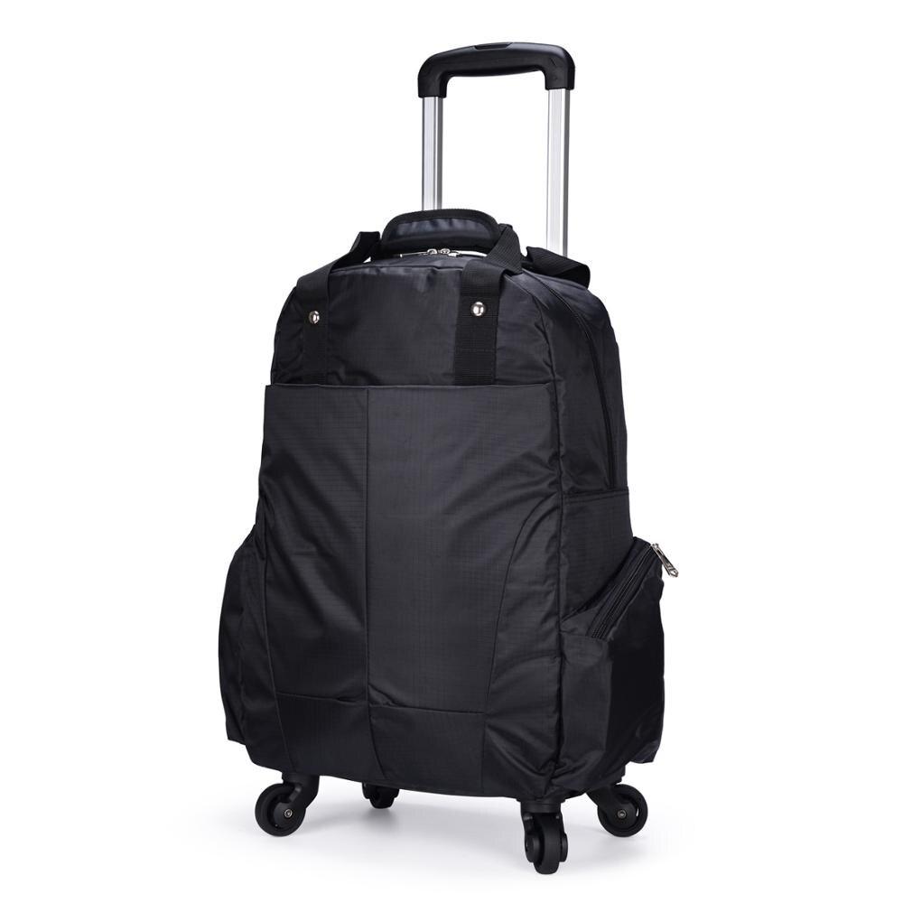 Sac Trolley universel roue chariot sac à dos grande capacité étanche voyage Trolley sac léger ordinateur sac d'embarquement