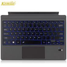 الخلفية سماعة لاسلكية تعمل بالبلوتوث لوحة المفاتيح لمايكروسوفت السطح برو 6 2018 برو 5 2017 برو 4 برو 3 بلوتوث لوحة المفاتيح اللوحي لوحة المفاتيح