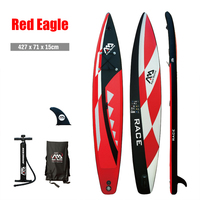 Outdoor Motion Inflatable Surfing Board Aqua Marina RACE BT 88876 Inflatable Turing Race Around Cruising Stand up Surfing Board