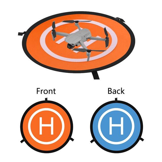 Para dji mavic ar 2 mavic pro 2 ar faísca fantasma 3 4 inspirar yuneec zangão helicóptero dobrável estacionamento 55 75cm almofada de pouso