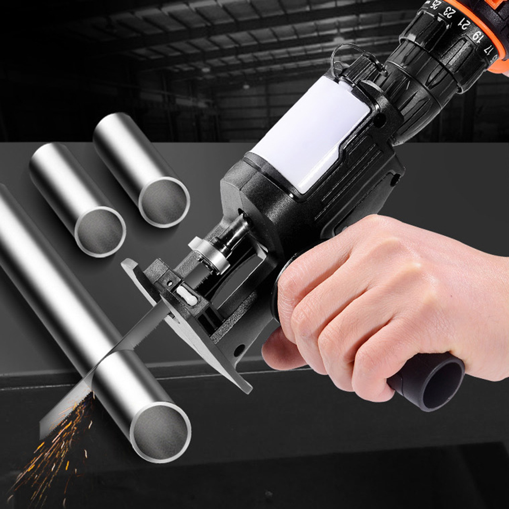 Household Electric Drill Modified Electric Saw Electric Reciprocating Saw Saber Saw Power Drill to Jig Saw Woodworking Tool