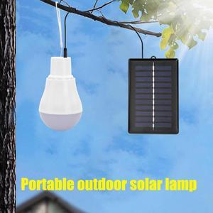 5V 15W 300LM наружная Солнечная лампа, USB аккумуляторная Светодиодная лампа, портативная панель солнечной энергии, наружное освещение, палатка, С...