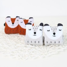 цены Baby Socks Unisex Lovely Cute Cartoon Fox Kids baby Socks Knee Girl Boy Baby Toddler Socks animal infant Soft Cotton socks 0-3 Y