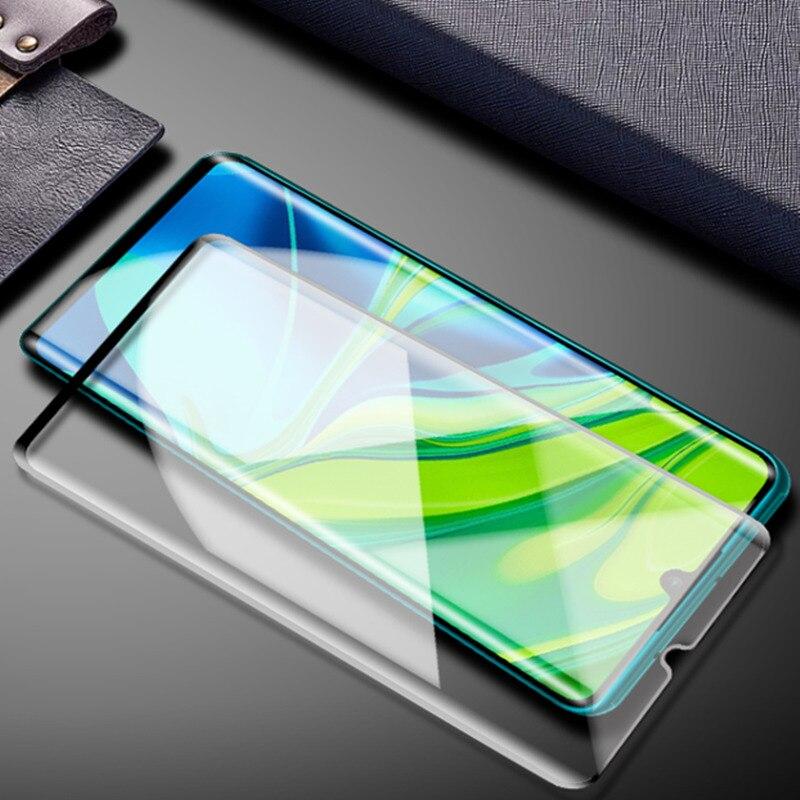Защитная пленка для экрана для Xiaomi Mi Note 10 Lite Glass Note 10 Pro из закаленного стекла Защитная пленка для телефона для Xiaomi Mi Note 10 Glass Защитные стёкла и плёнки      АлиЭкспресс