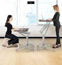 Table multifonctionnelle pneumatique réglable pour ordinateur portable, Table de conférence, pour la maison et le bureau