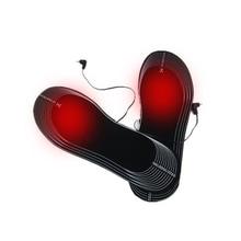 2 шт. стельки с подогревом электрическое устройство для сушки обуви стелька для ботинок 4,5 в батарея снежные ножки зимние теплые рождественские подарки теплые стельки