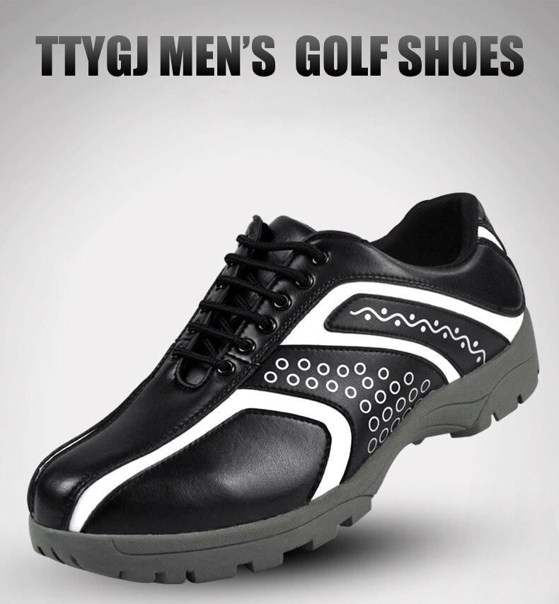 masculinos de treinamento resistente ao desgaste tênis de golfe