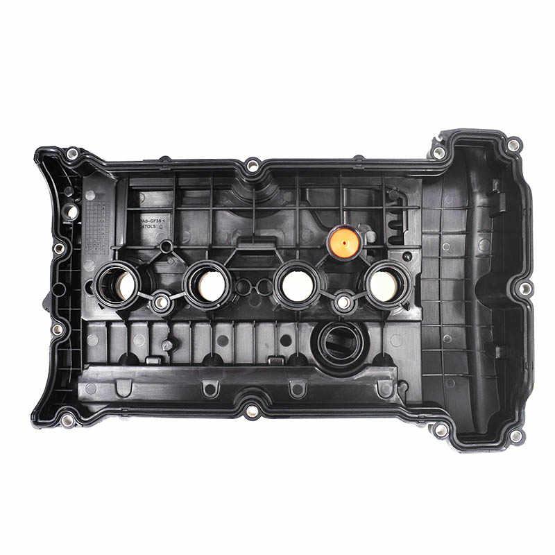 CDYSS Tapa de la v/álvula del cilindro del motor w//junta parte #11127646554 11127553799 para MINI N12 N16 R55 R56 R57 R58 R59 R60 R61 Tapa de la v/álvula de balanc/ín