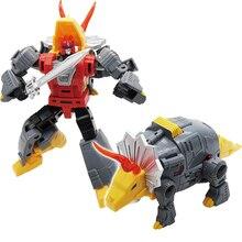 Mft Transformatie Dinosaurus G1 Animatie Kleur Slakken Grauw Grimlock MF 22 Action Figure Speelgoed