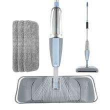 Mop 3 in 1 Spray Mop And Sweeper Machine Vacuum Cleaner Hard Floor Flat Cleaning Tool Set For Household Hand held Easy Use Mop
