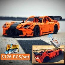New Technology Series Viper ACR MOC-13655 double monster motor sports car Building Blocks Bricks diy toy Gift birthday christmas