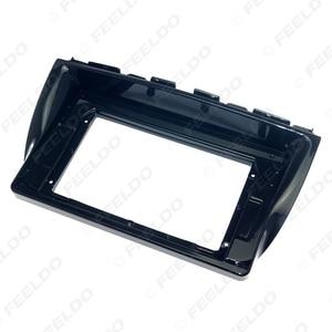 Image 4 - FEELDO 자동차 오디오 마즈다 CX 5 2Din DVD 플레이어 대시 오디오 피팅 패널 프레임 키트에 대 한 10.1 인치 큰 화면 근 막 프레임 어댑터