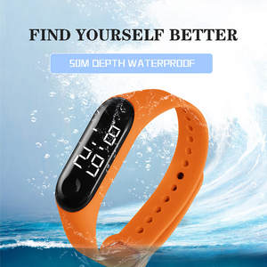 Electronic Watches Sports Fashion Women Luxury Relogio Gift And LED Luminous-Sensor Masculino