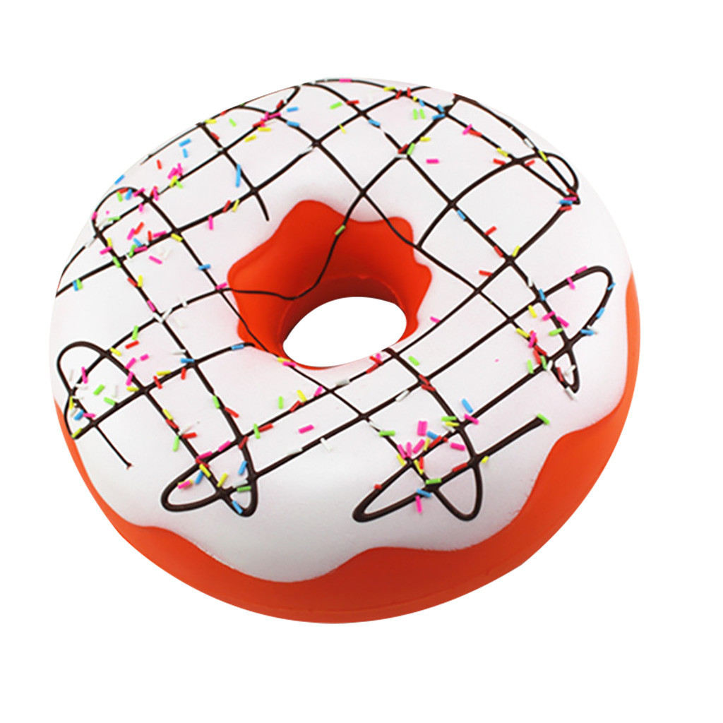 Fidget Toys Adorable Slow Rising Jumbo Doughnut Squeeze Scented Stress Relief Toy Novelty Funny Decompression Squeeze Vent Toys enlarge
