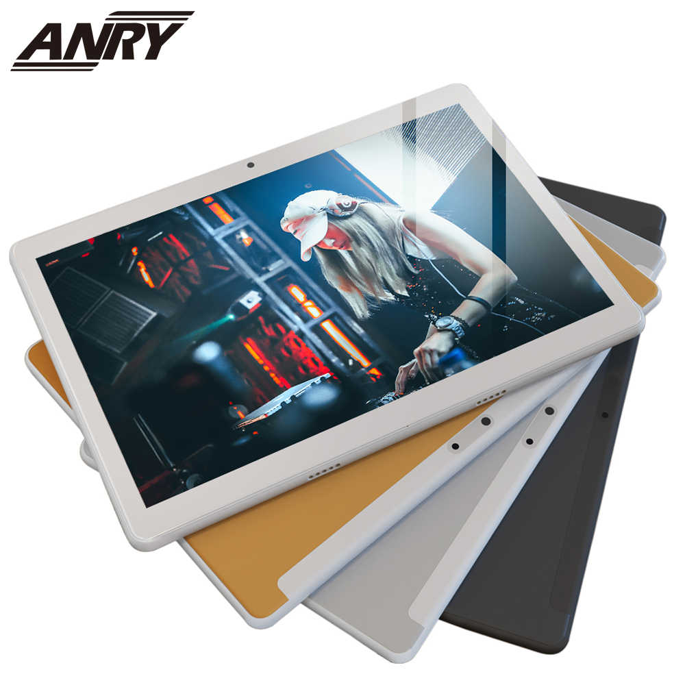 ANRY Android 7.0 Tablet PC Google Play 4 GB RAM 64 GB Opslag WiFi BT 1280x800 IPS Scherm dual Camera RS10 Model 10 Inch