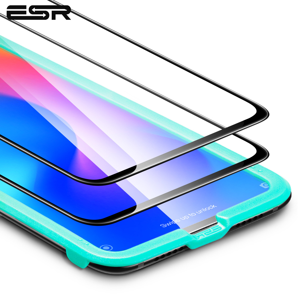 2pcs/lot ESR Screen Prorector For Xiaomi Mi 9 Pro Tempered Glass 3D Full Cover Phone Film Protective Glass For Xiaomi Mi CC9e