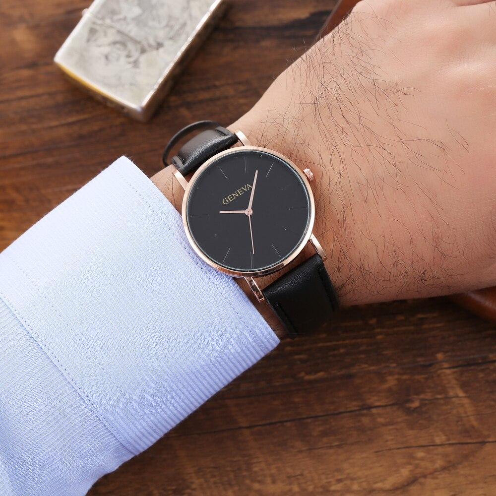 H6ff5933056f84c29b257361ad93dc60fZ Arrival Men's Watches Fashion Decorative Chronograph Clock Men Watch Sport Leather Band Wristwatch Relogio Masculino Reloj