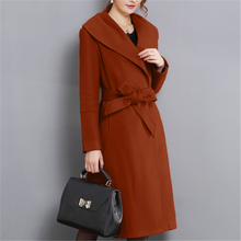 Wool Coat Women Abrigos Mujer Invierno 2019 Korean Fashion Woman Jacket Plus Size Elegante Coats Winter