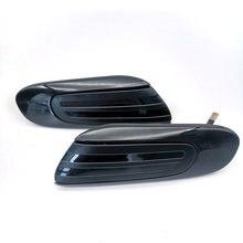 2 шт Динамический светодиодный боковой индикатор для автомобиля