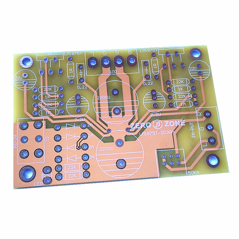 LM1875T LM2030A Power Amplifier PCB