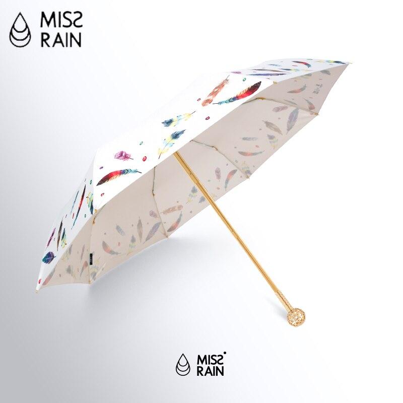 Золотой роскошный зонт для женщин с защитой от ультрафиолетового излучения, креативный женский зонт, высокое качество, белые зонтики для де