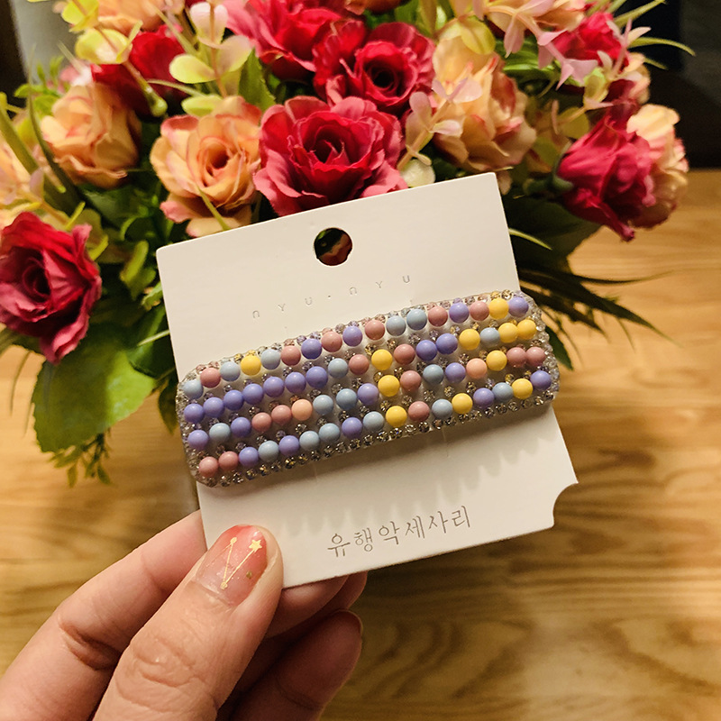 Candy Color Sweet Girl Hair Clip Female BB Clip Simple Wild Hair Clip Retro Wild Female Hair Accessories