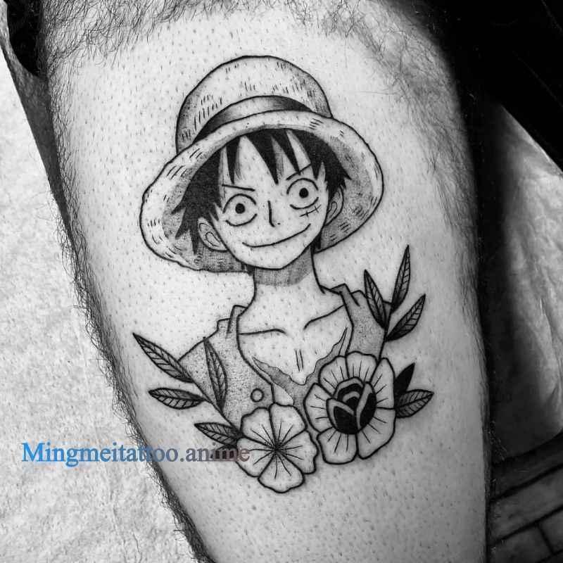 One Piece Tattoo Luffy Roronoa Zoro Trafalgar Law Tattoo Sticker Cosplay Props Waterproof Diy Sticker Color Tattoo Costume Props Aliexpress
