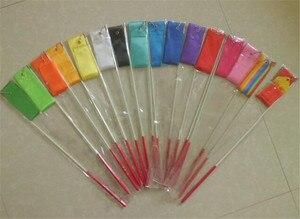 Image 5 - Extraหนาริบบิ้นDance Streamer Wand Rod Stickไฟเบอร์กลาสเด็กผู้ใหญ่สีดำสีแดง49ซม.60ซม.ขนาดมาตรฐาน60ซม.
