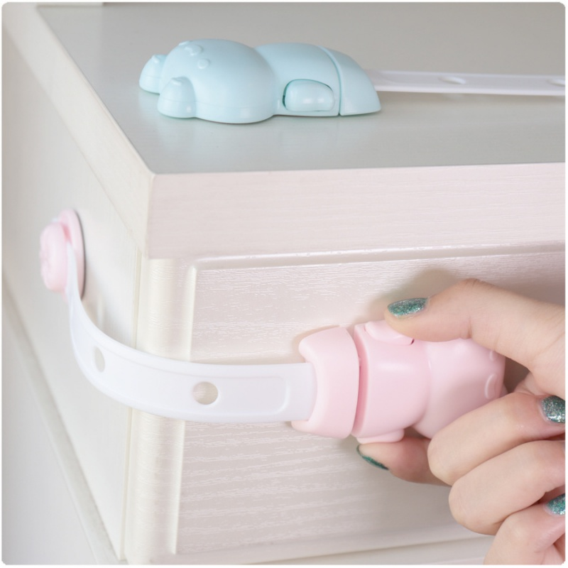 Hot Baby Cute Safety Drawer Anti-clipper Automatic Transformation Cabinet Lock Locks From Children