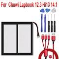 7,6 V Батарея для Chuwi Lapbook 12,3 Hi13 14,1 планшетный ПК мА/ч. аккумулятор батареи с 7-Отсоединяемый провод + USB кабель