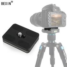 BEXIN arca swiss Quick release PU40 PU50 PU60 PU70 Aluminum Camera QR Plate 38MM Fast Mounting Plate for Tripod Ball head цена 2017