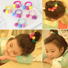 1/5/10 Lot Elastic Hair Bands Rope Little Girls Fashion Hair Ties Holder Head Band Hairwear(China)