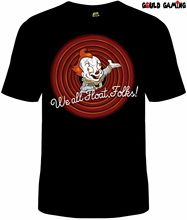Pennywise IT T-Shirt Unisex Funny Tiny Toons Cotton Adult Clown Stephen King Male Pre-Cotton