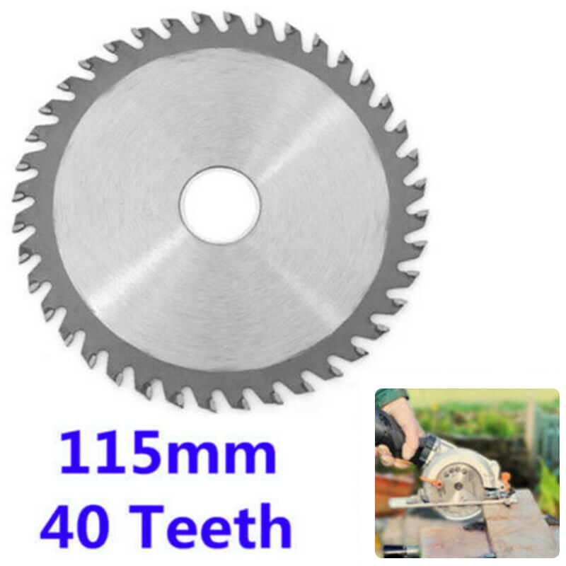 Cutting Machine Refined Alloy Round Knife Mower Blade Circular Saw Blade Manganese Steel Knife White Steel Knife 4.5 Inch