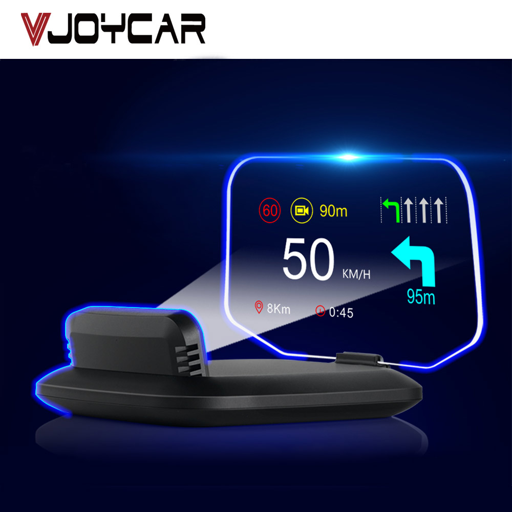 China Newest 2 IN 1 Car HUD GPS Navigation OBD2 Scanner On-board Computer Bluetooth Live GPS Navigation Speedometer Projection