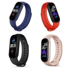Montre connectée M5, Bracelet avec appels, écran couleur 2020 pouces, étanche, charge magnétique, version globale, nouveau, 0.96
