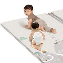 Cobertor do jogo das crianças, esteira rastejando da ioga, esteira de escalada do bebê, tapete das crianças, esteira impermeável acolchoada da dupla camada