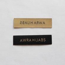Термоклейкие этикетки для одежды с логотипом бренда (1000 шт/лот)