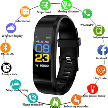 115Plus Multi Function Bracelet Step Counting Information Reminds Sleep Heart Rate Health Monitoring For Fitness Enthusiasts