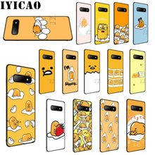 IYICAO cute gudetama Soft Silicone Case for Samsung S6 S7 S8 Edge S8 S9 S10 Plus S10e Phone Cover(China)