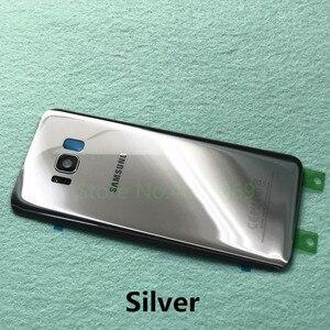 Image 5 - Samsung Lưng Pin Dành Cho Samsung Galaxy Samsung Galaxy S8 G950 SM G950F S8 Plus S8 + G955 SM G955F Lưng Kính Cường Lực Mặt Sau Ốp Lưng + Dụng Cụ