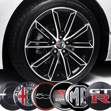 4 Xe Ô Tô Tạo Kiểu Bánh Xe Trung Tâm Bao Hub Mũ Trang Trí Dán Cho VW Volkswagen Beetle Scirocco Passat Golf Sharan 7N R Dòng
