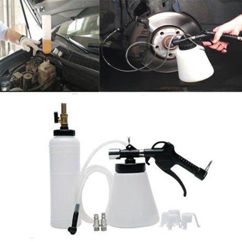 1set Car Brake Fluid Replacement Tool Large Capacity Brake Fluid Drained Bleeder Oil Pump Change Equipment Kit For Cars Trucks