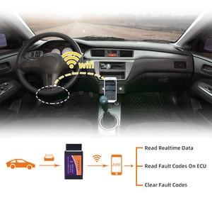 Image 2 - רכב סורק ELM327 Bluetooth/WIFI V1.5 OBDII ELM 327 BT/WI FI 1.5 HHOBD HH OBD ELM327 OBD2 Bluetooth v1.5/1.5 ELM 327 מתג על