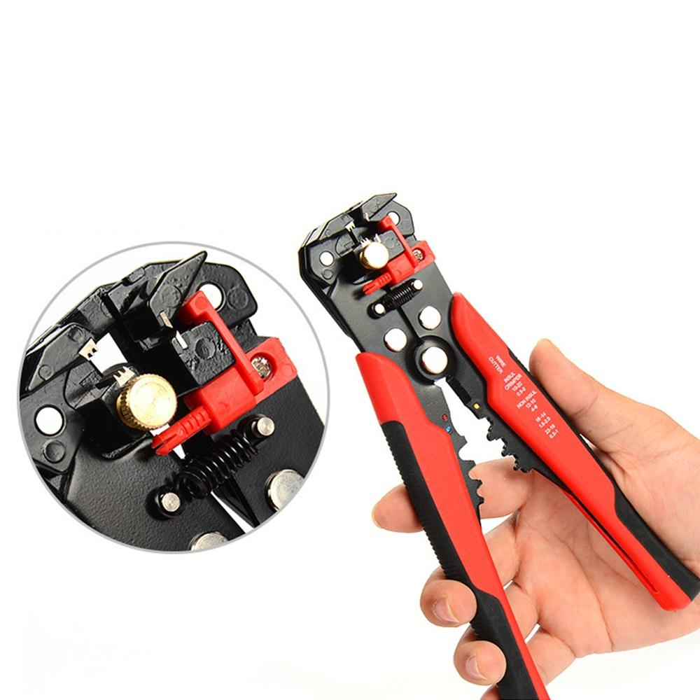 3 In 1 Automatic Cable Wire Stripper Cutter Crimper Multifunctional Terminal Crimping Stripping Plier Tools Cable Wire Stripper