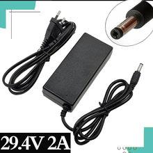 294 v 2a Высокое качество зарядное устройство литиевая батарея