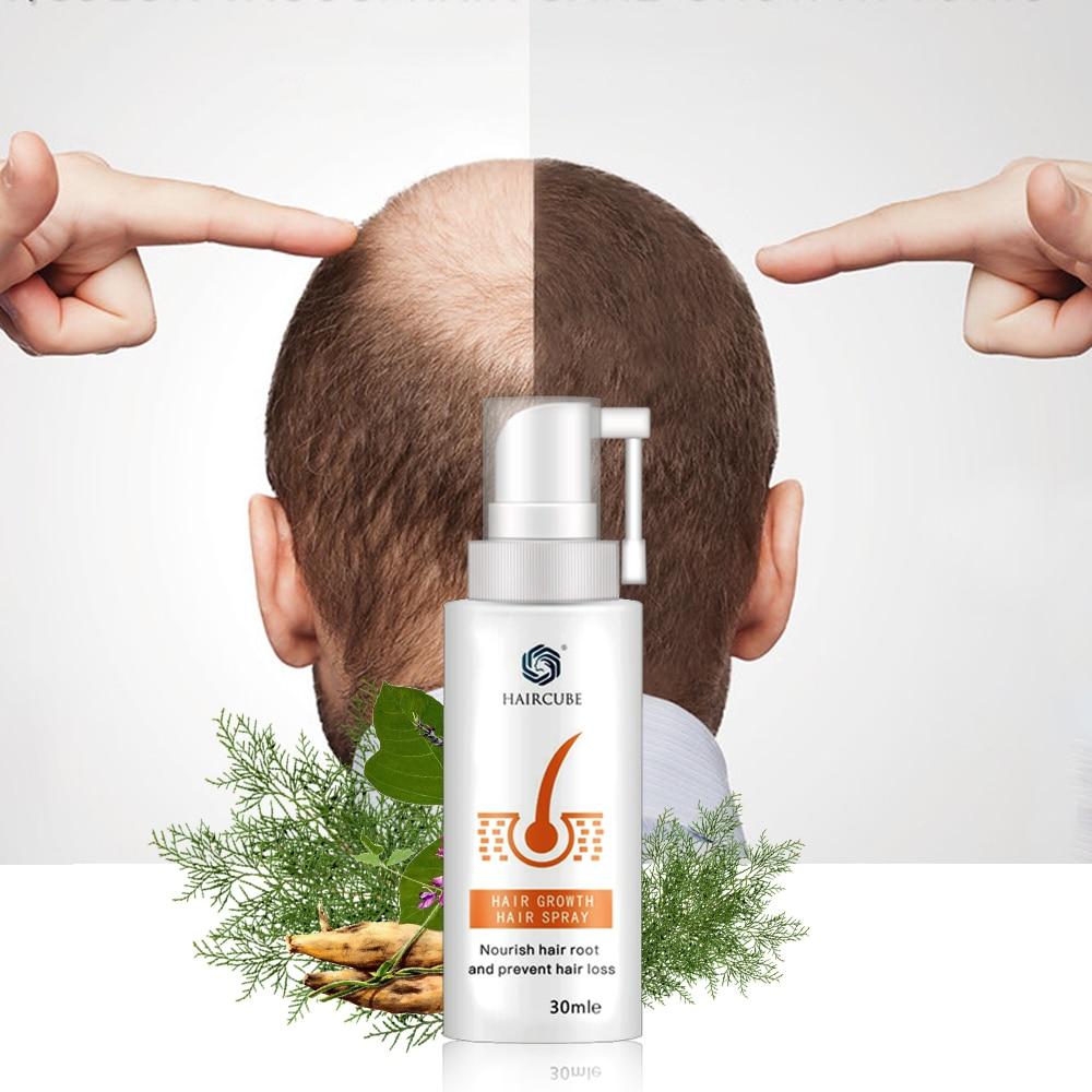anti soro da perda de cabelo do pulverizador do crescimento do cabelo do cubo de cabelo