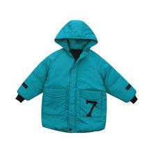 Детская одежда для мальчиков теплая зимняя пуховая хлопковая