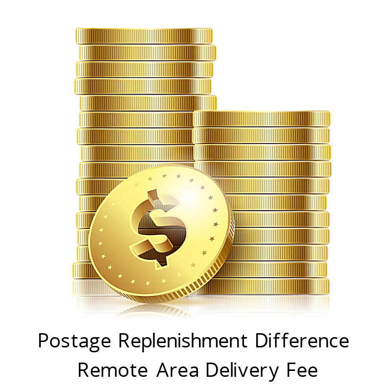 Différence de réapprovisionnement postal et frais de livraison dans les zones éloignées