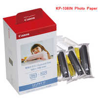 KP-108IN 100*148mm Photo Papers and Ink Cartridge for Canon Selphy CP Series Photo Printer CP800 CP910 CP1200 CP1300 Printer